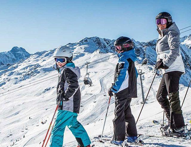 Do Alp s dětmi